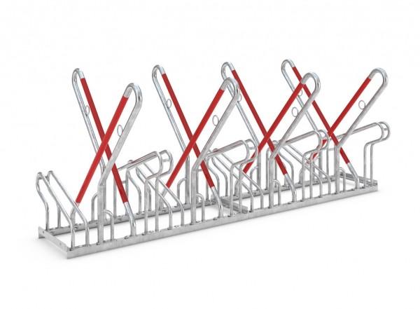 Fahrradständer New York - Radabstand 540 mm - zweiseitig