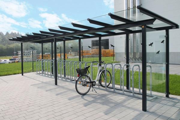 Fahrradüberdachung FS 6.6