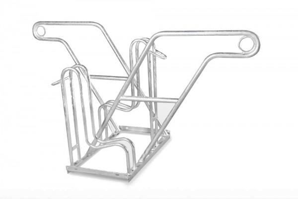 Fahrradständer Ontario mit Anlehnbügel - zweiseitig