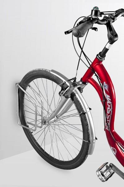 Fahrradparker Pluto - zur Wandbefestigung